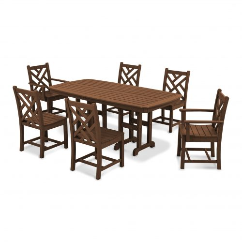 Chippendale 7-Piece Dining Set 2